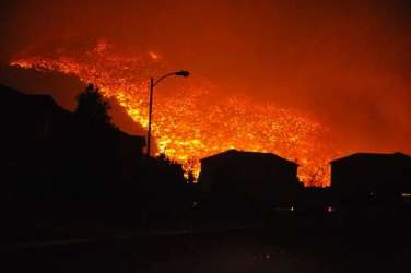 Reno Nevada Fire Caughlin Fire